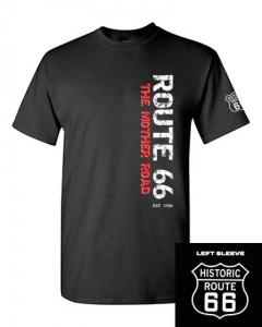 Route 66 T-Shirt Black