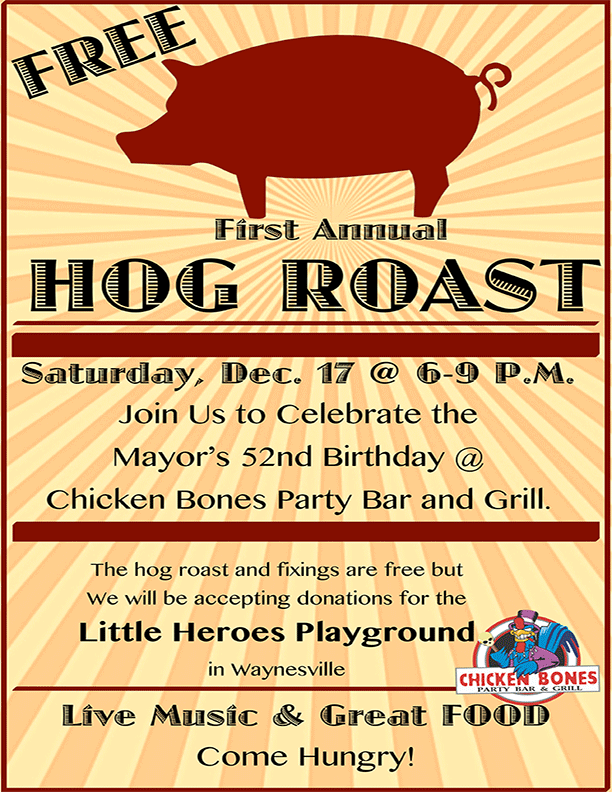 Hog Roast For Charity in Uranus