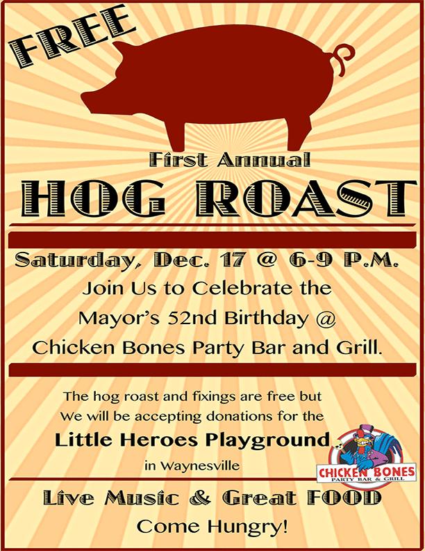 Hog Roast For Charity in Uranus